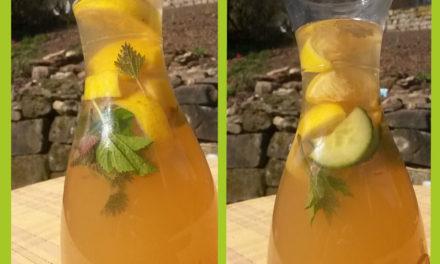 Kräuter Detox Drink – Lecker, gesund, erfrischend