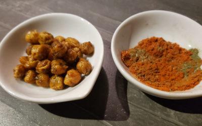 Geröstete Kichererbsen – leckerer, gesunder Snack